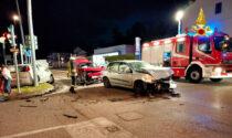 Incidente a Este: scontro fra tre vetture, due feriti