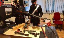 """La """"santabarbara"""" di Campodoro, arrestato un 64enne: doppietta rubata e persino una bomba a mano nel suo arsenale"""