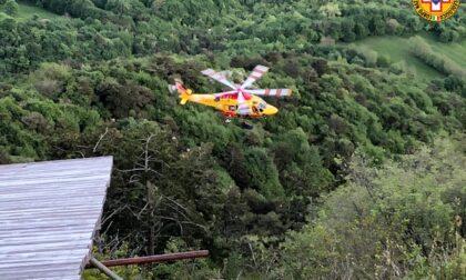 Lo shock di Eva, miracolata nella tragedia del deltaplano sul Grappa