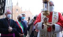 Sant'Antonio, le foto dell'arrivo della reliquia a Padova