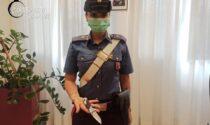 Gira per Camposampiero con un coltello da 20 centimetri e rifiuta l'etilometro: 24enne denunciato