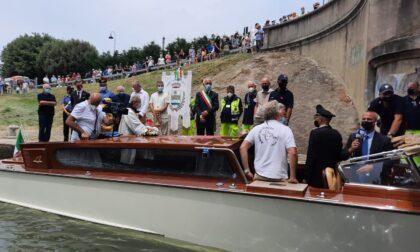 Sant'Antonio, tutte le foto del corteo acqueo che da Padova ha riportato la reliquia a Venezia