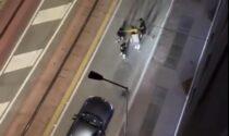 Baby gang in azione all'Arcella, il video della violenta scazzottata