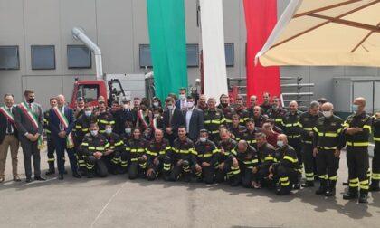 Borgoricco, tutte le foto dell'inaugurazione della nuova caserma dei Vigili del fuoco volontari