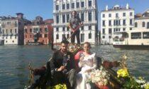 Tornano gli sposi a Venezia e i fiori (padovani) li regala Coldiretti