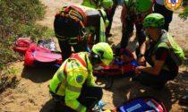 Il salto dalla pedana finisce male: ciclista padovano cade e finisce in ospedale