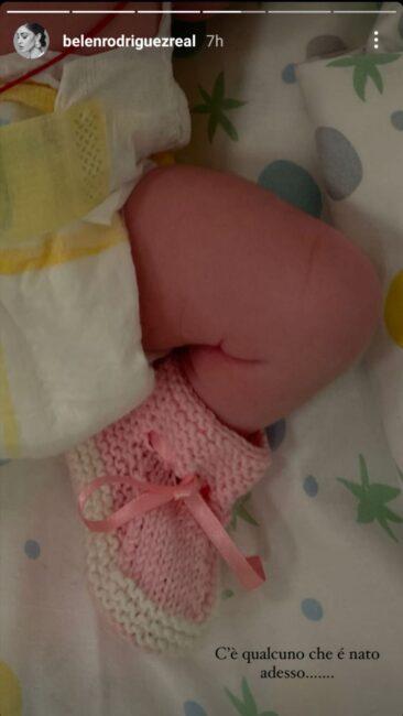 Belen Rodriguez, fiocco rosa: è nata a Padova la secondogenita Luna Marì