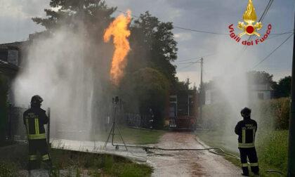 Grossa perdita di gas da serbatoio a Maserà
