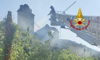 Incendio a Padova: in fiamme una vecchia abitazione disabitata