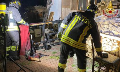 Padova, incendio in un'abitazione nella notte: uomo intossicato a Ponterotto