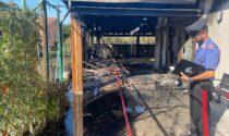 Incendio in una rimessa nel padovano, cane muore tra le fiamme