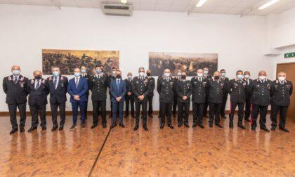Il generale Spina fa visita ai carabinieri di Padova
