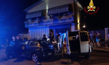 Fossalta di Trebaseleghe, scontro tra auto: due feriti
