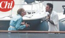 Anche Chiara Ferragni e Fedez litigano... però sullo yacht superlusso