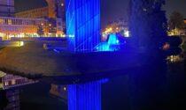 Padova, nuovo impianto di illuminazione per il monumento alle vittime dell'11 settembre