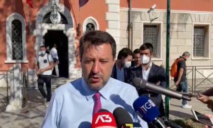 """""""Grazia per Walter Onichini"""": Matteo Salvini in carcere dal macellaio padovano"""
