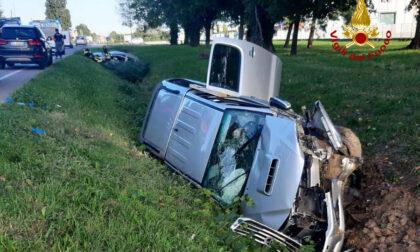 Monselice Mare, scontro tra Suv e auto: due feriti