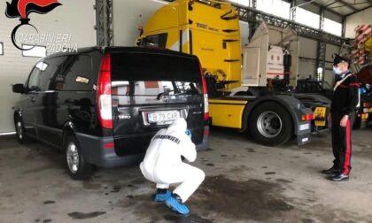 Trovato il furgone nero con cui è stato rapito David: era in un'officina a Limena